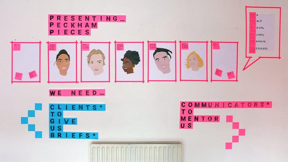 Peckham Pieces – the team