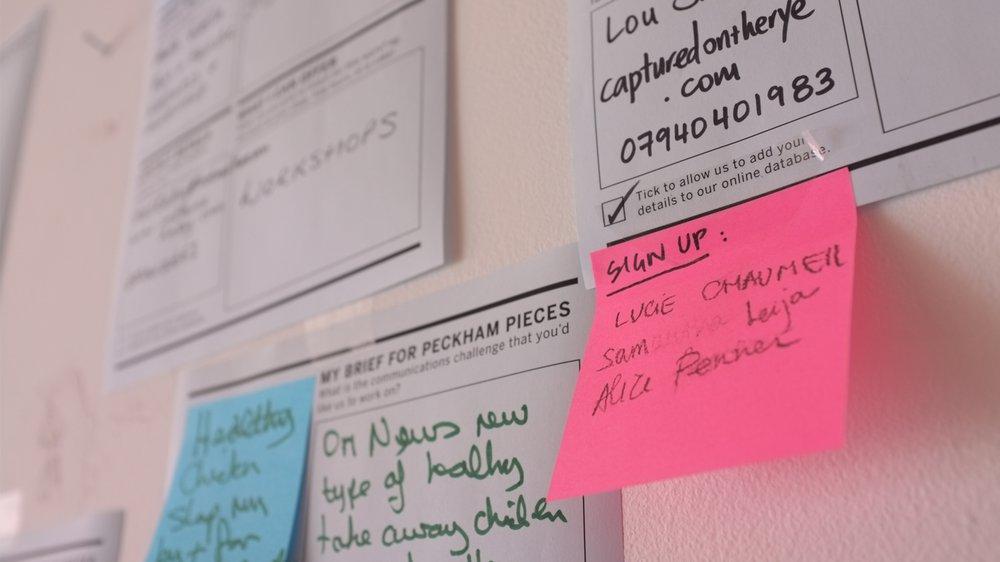 Peckham Pieces – matching clients to communicators