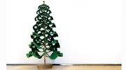 Felt and Wood Christmas Tree
