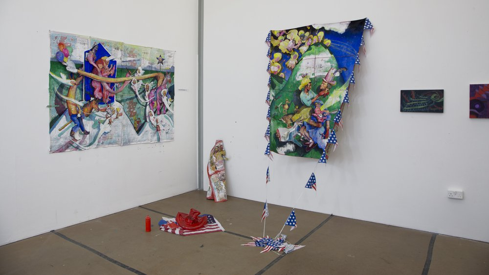 Arts & Humanities Work-in-progress 2018: Painting, Elise Broadway