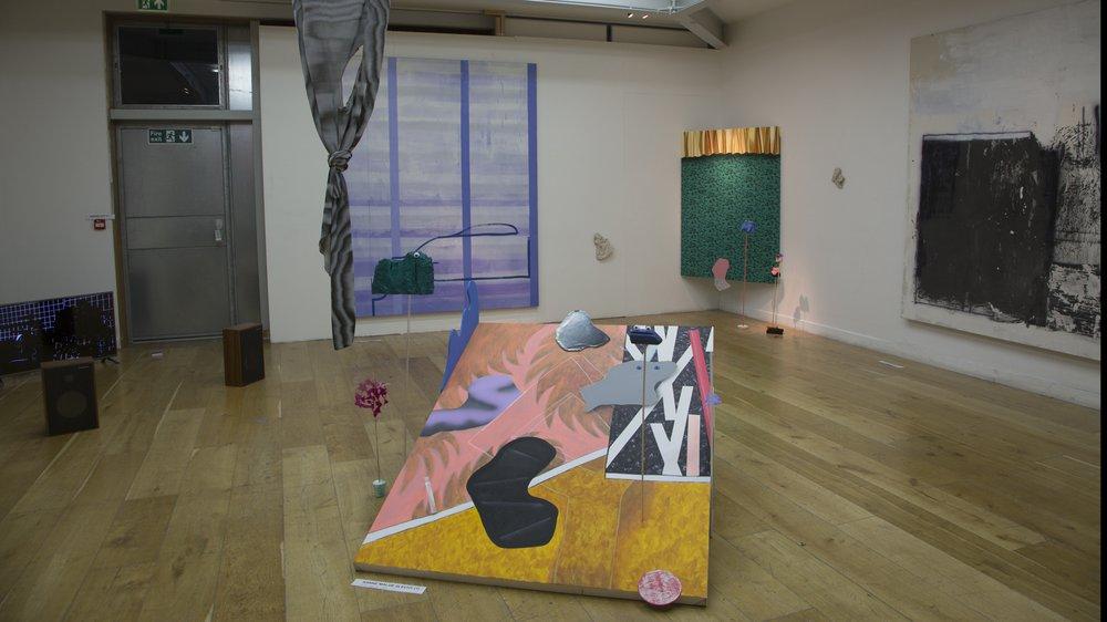 Arts & Humanities Work-in-progress 2018: Painting, Sanne Maloe