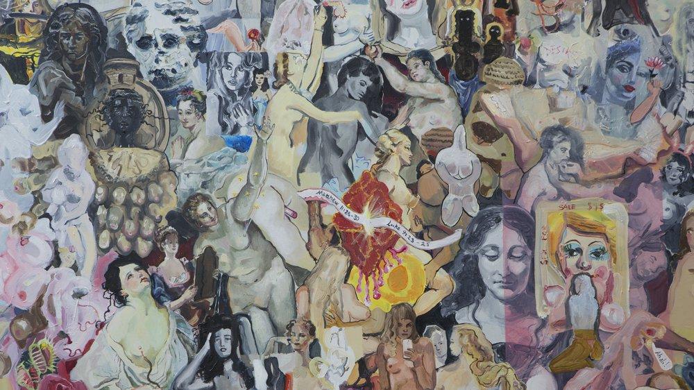 Arts & Humanities Work-in-progress 2018: Painting, Sara Sigurdadottir