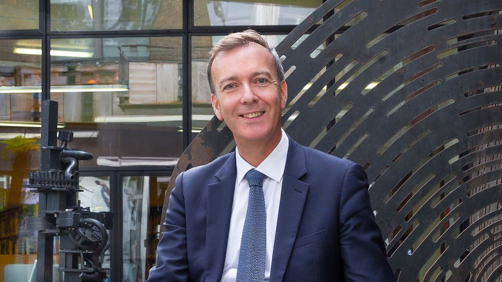 Dr Paul Thompson, Vice-Chancellor