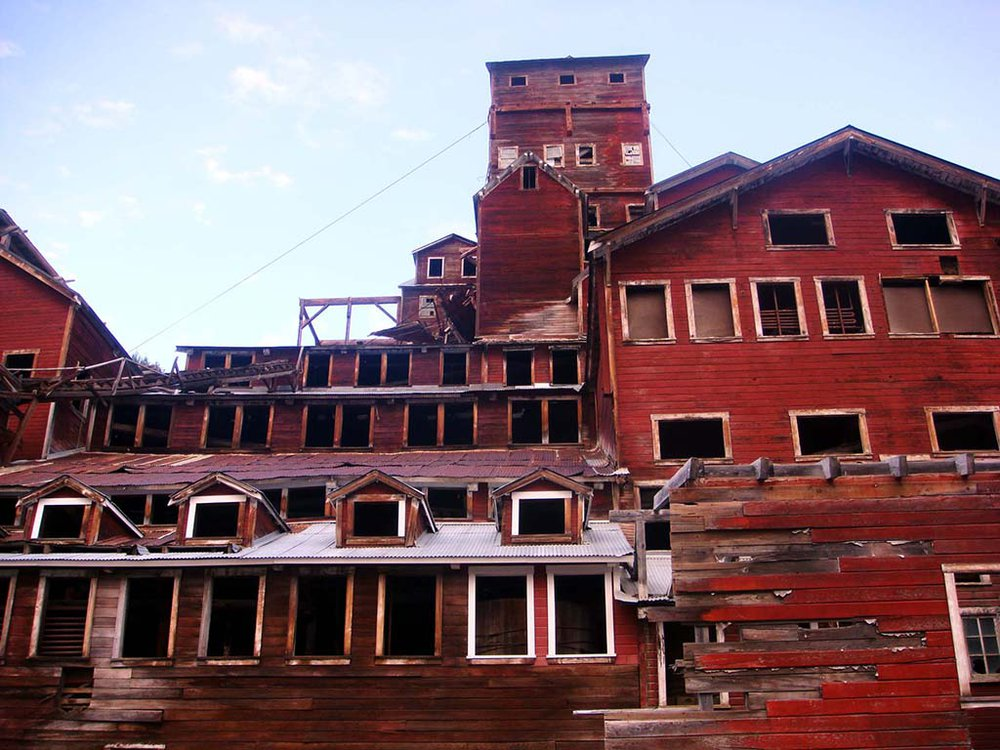 CONTRIVED DERELICTION Kennecott Processing Mill