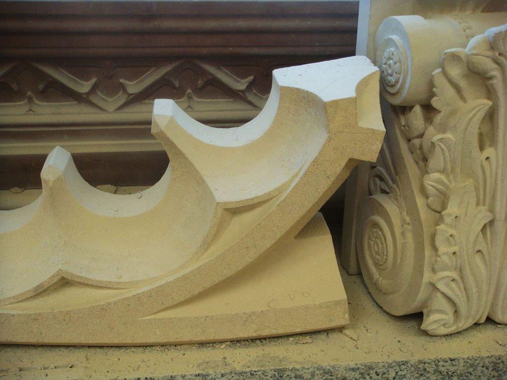 TRADITIONAL CRAFT SKILLS stonemasons training pieces, field journal