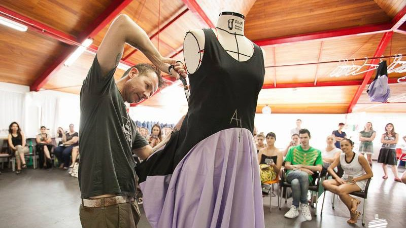 Subtraction Cutting workshop at Obitato Instituto, Brazil, 2014