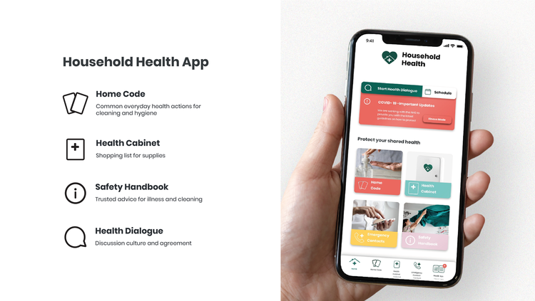 Alessandro Paone and Pinja Piipponen, Household Health App