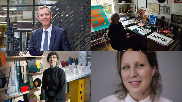 Margaret Calvert, Lubna Chowdhary, Kerry Curtis, Dr Paul Thompson