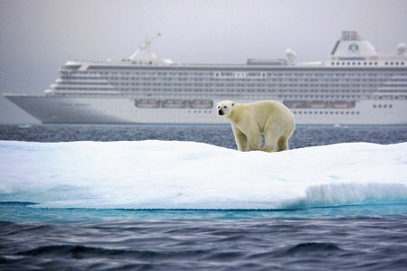 Crystal Serenity in the Northwest Passage