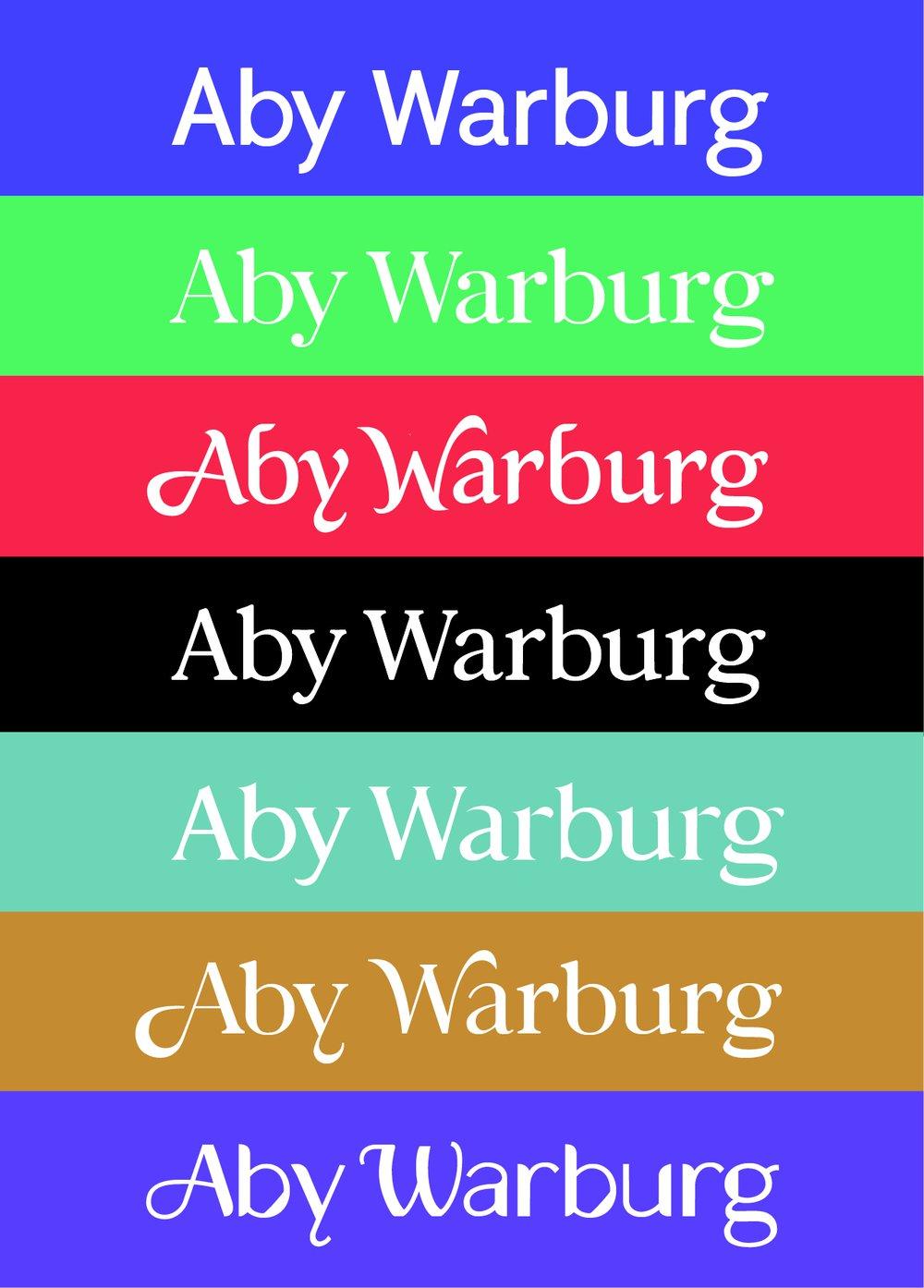 Aby Warburg Variations