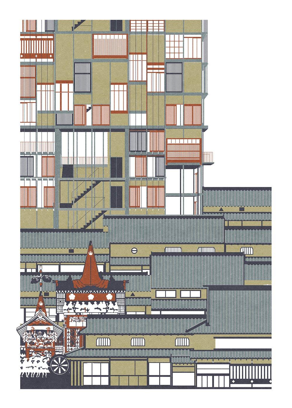 A Modern Machiya Matsuri