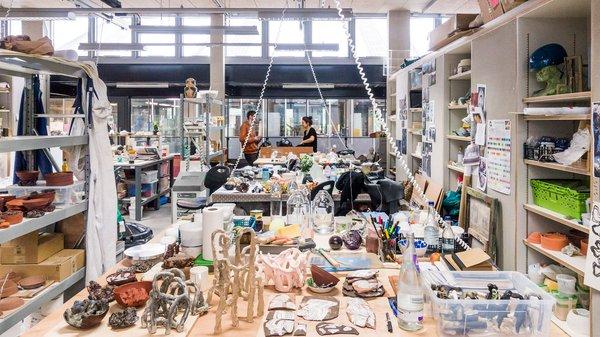 Ceramics & Glass Studio
