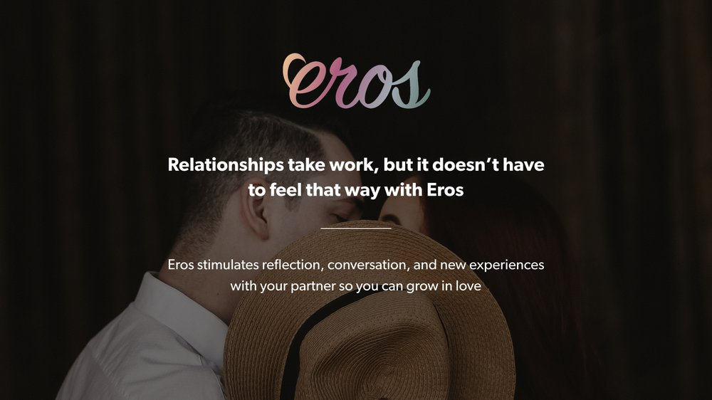 Eros Value Proposition