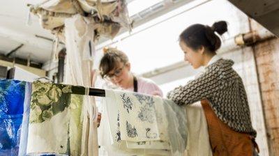 Textiles students