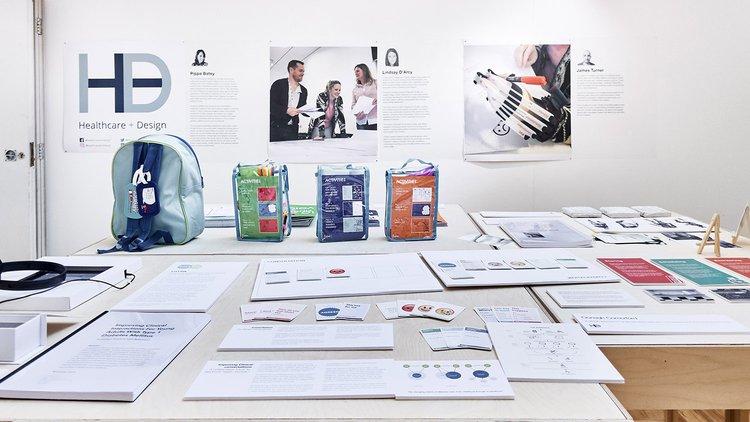 MRes Healthcare & Design exhibition