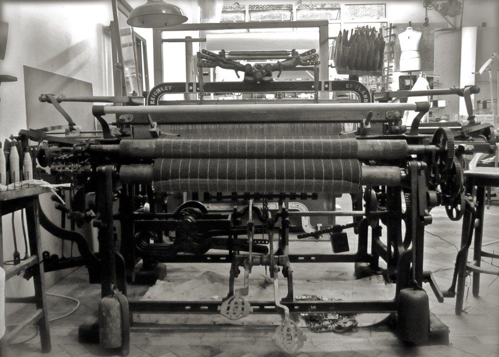 Hattersley Domestic foot-powered loom