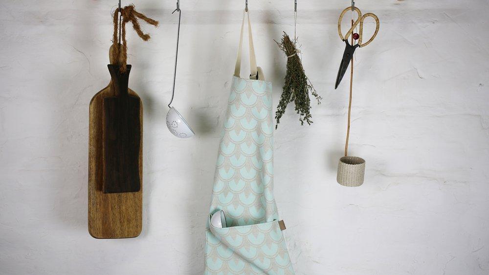 Cotton Battersea apron