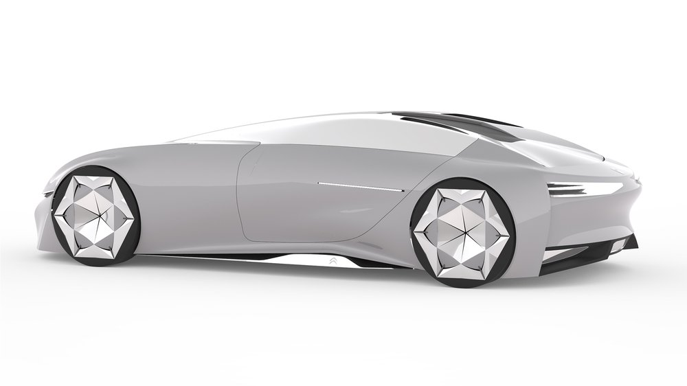 3/4 rear render