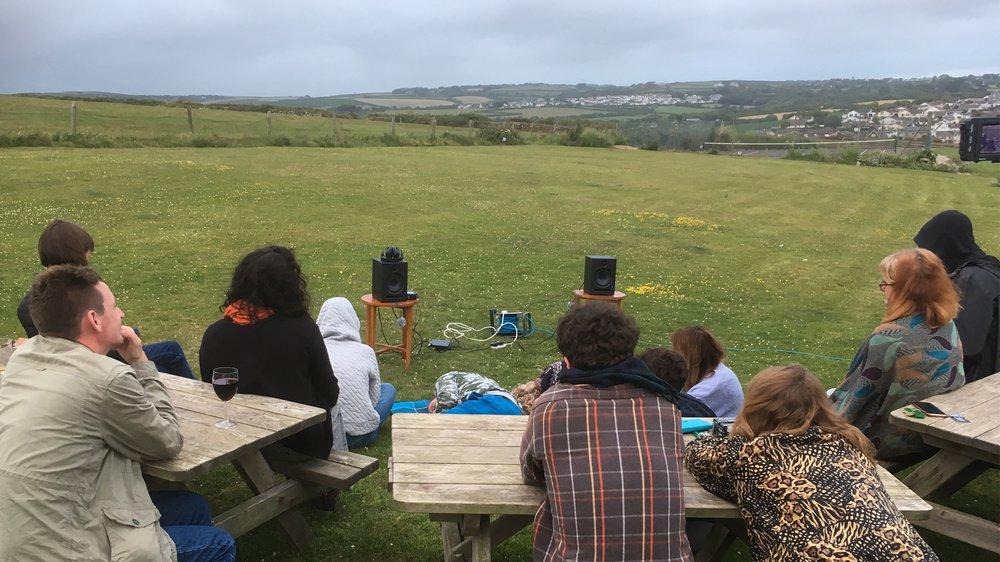 Sylvan Sounds Listening Event, Bude, Cornwall