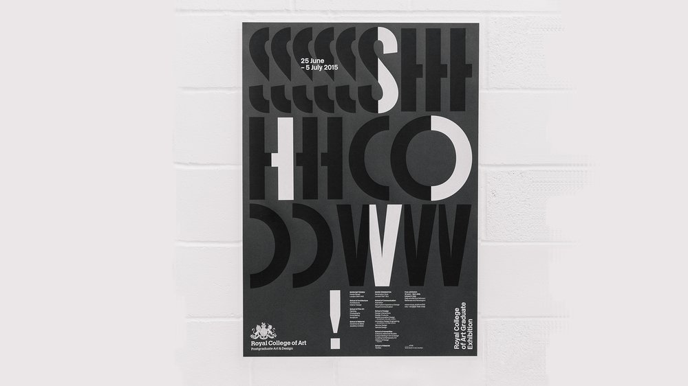 Show 2015 Graphic Identity: Poster