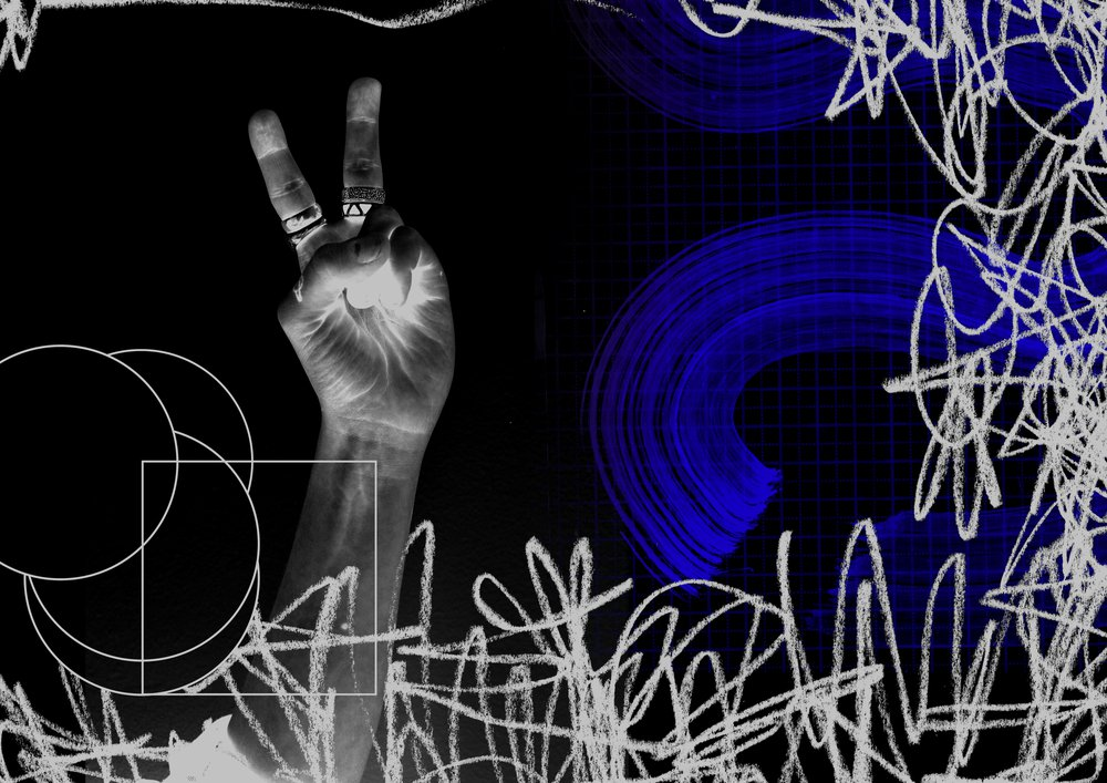 Rock Paper Scissors: Graphics for Peter Gabriel / Sting Tour