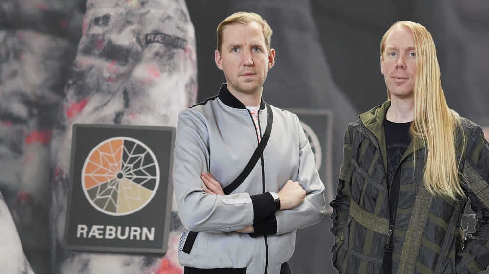 Christopher and Graeme Raeburn