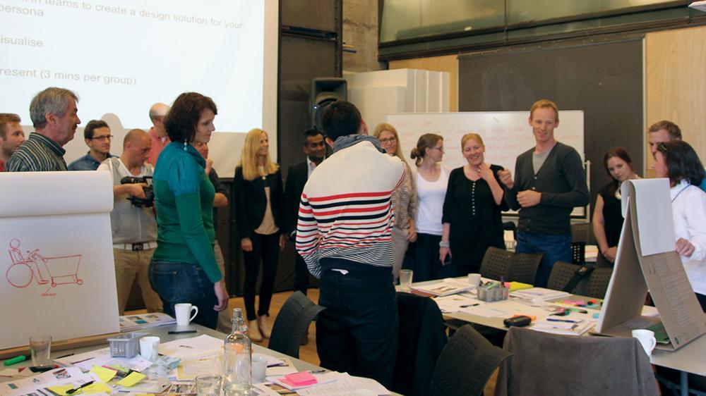 Teams present design work in Oslo