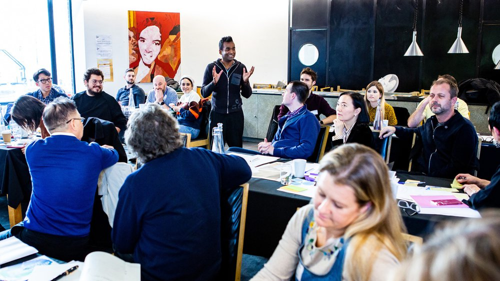 Creative Leadership masterclass at RCA