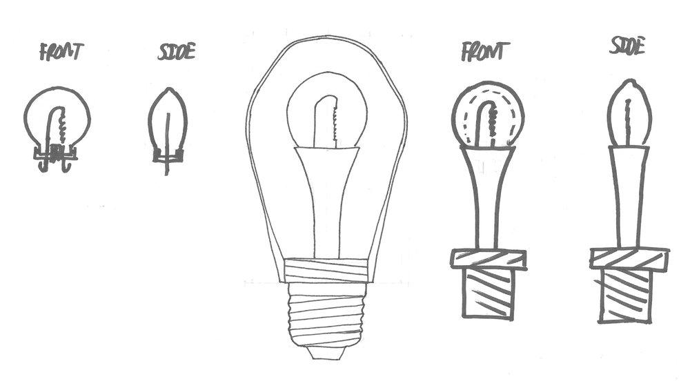 Concept Development Sketch (Basic Components)