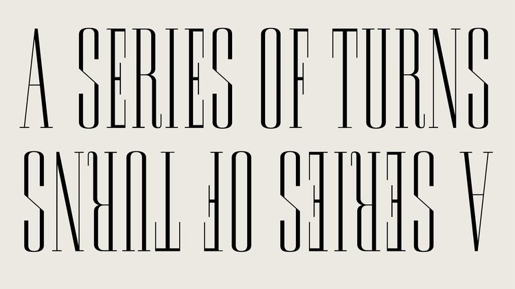 Remnants typeface, designed by the APFEL Type Foundry