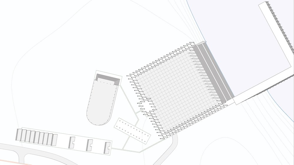 Stage 1 Axonometric (developing project)