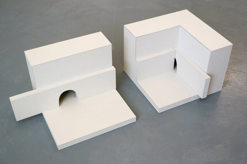 Moving Mouse Hole Maquettes