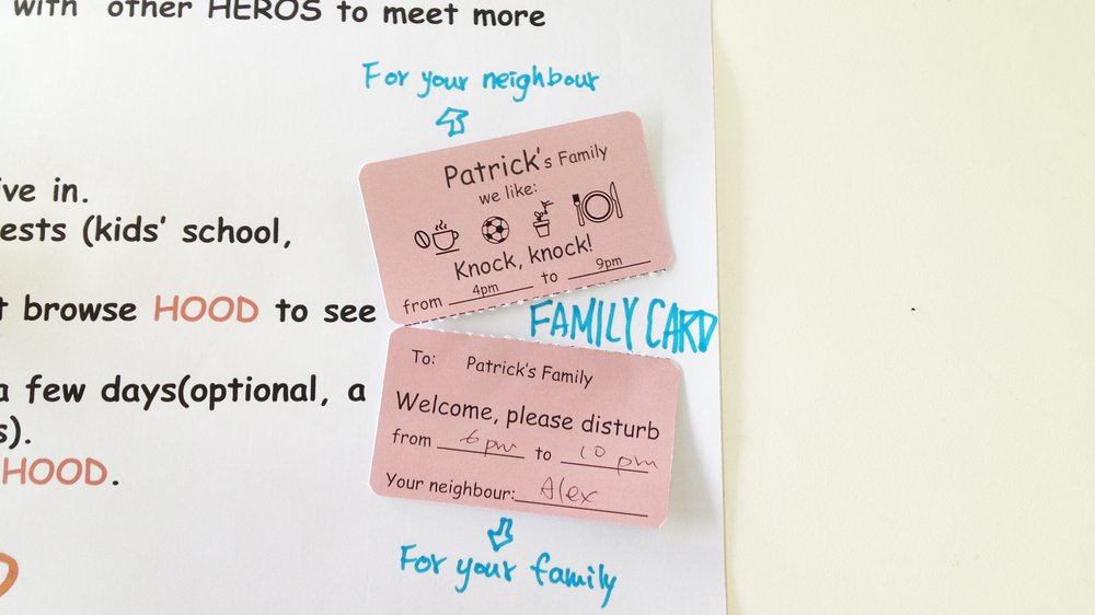 prototype test-family card