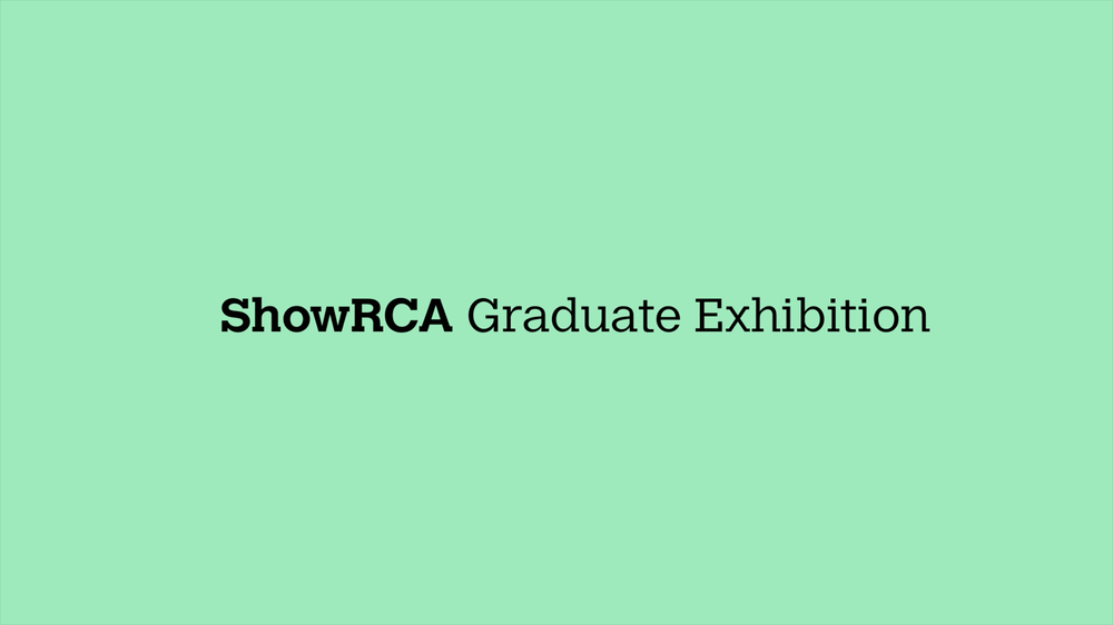 SHOW 2016 Graduate Exhibition: Graphic Identity