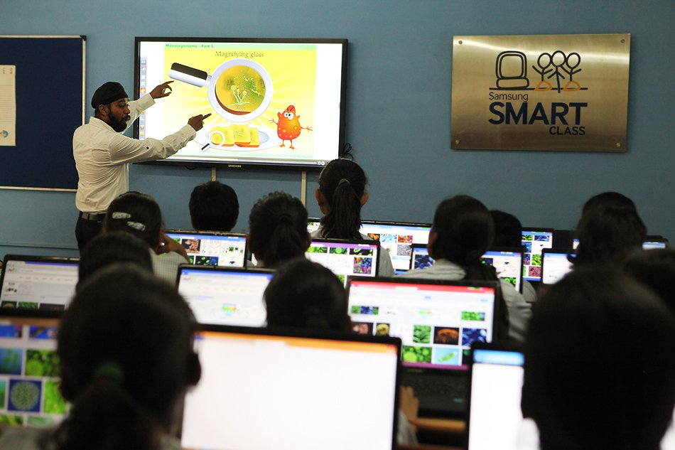 Exisiting CSR programme Research_ Samsung Smart Class_ Jaffarpur Kalan, New Delhi, India