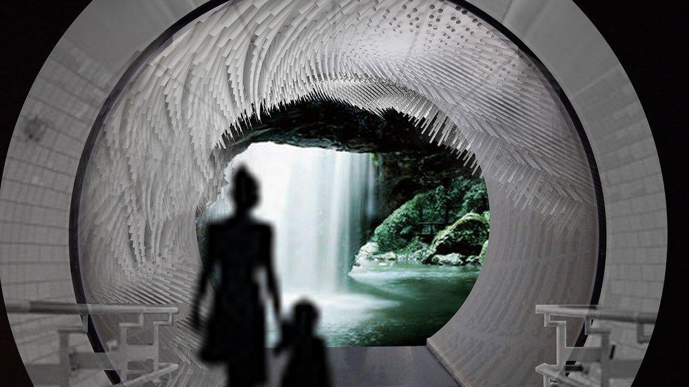 Atmospheric Pressures: reimagining the interior ecosystem of London Underground