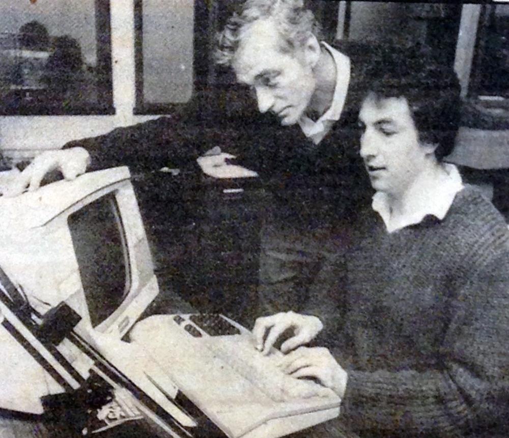 'Trainee Typesetter'