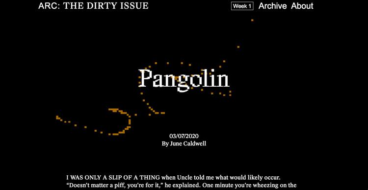 ARC Dirty Issue, Pangolin, Screenshot