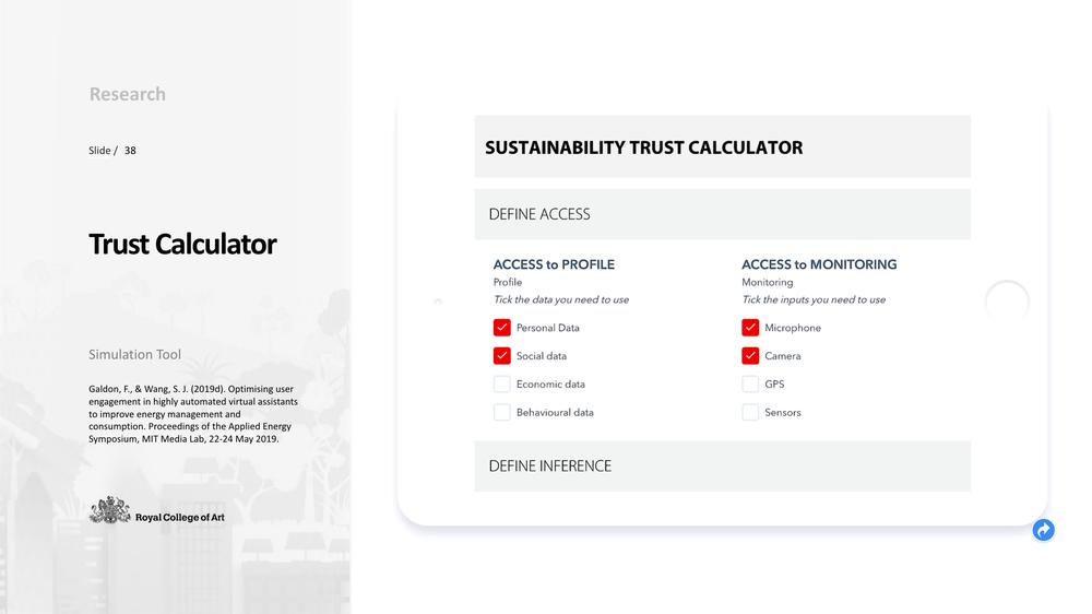 Case 5 - Trust calculator - Sustainability Edition