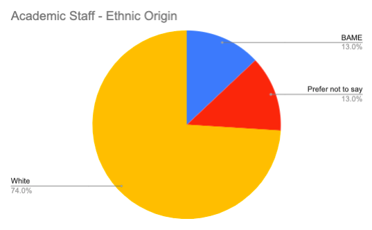 Academic Staff – Ethnic Origin
