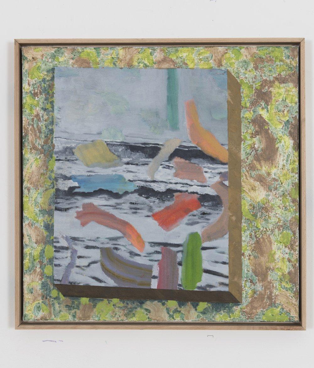 Seascape on wallpaper