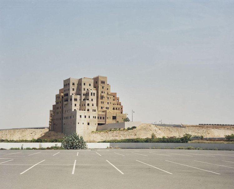 Shopping mall parking lot_ Dubai_ Bas Princen_ 2009