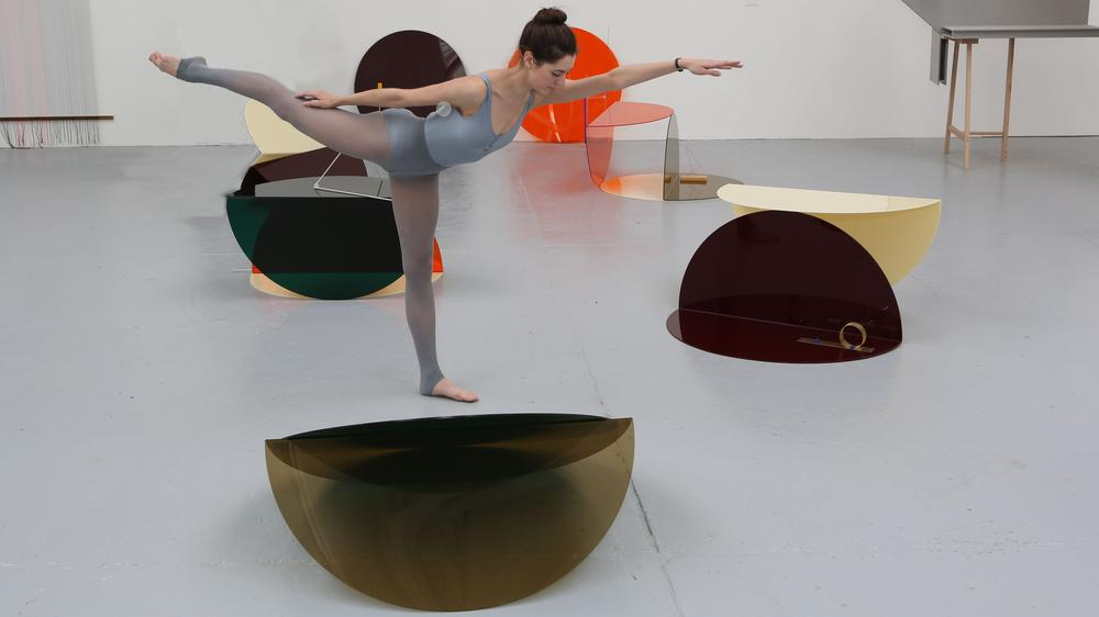 Performance at the Sculpture Building in Battersea, Show RCA 2013