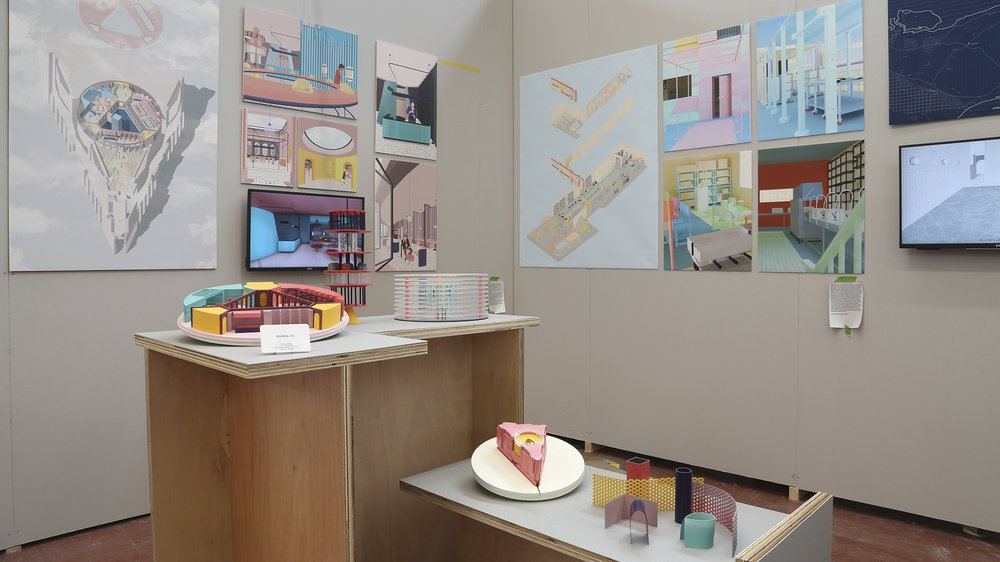 Show 2018 School of Architecture, Interior Design, Danna Yu