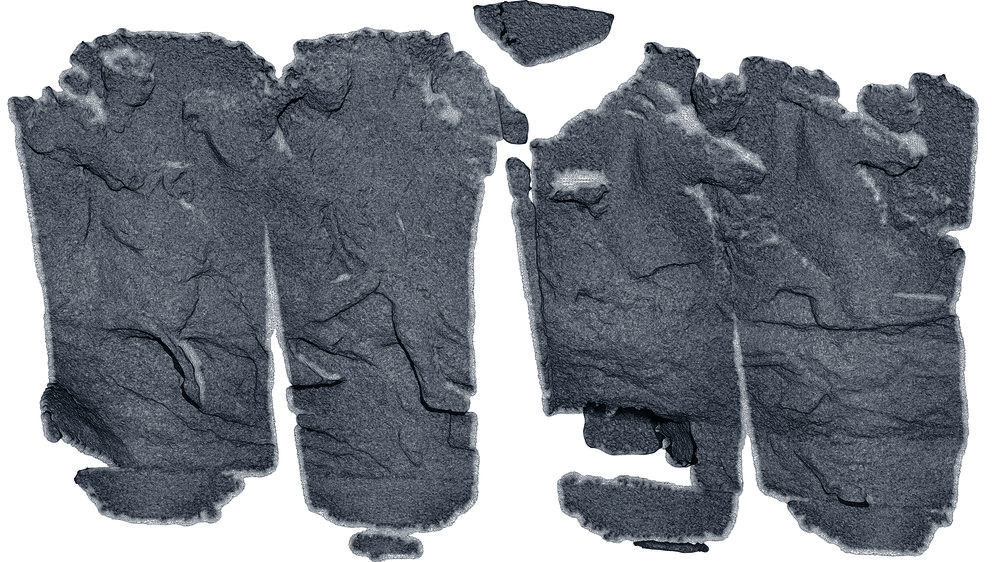 Mesh derived from Photogrammetry Scan of Parthenon Frieze