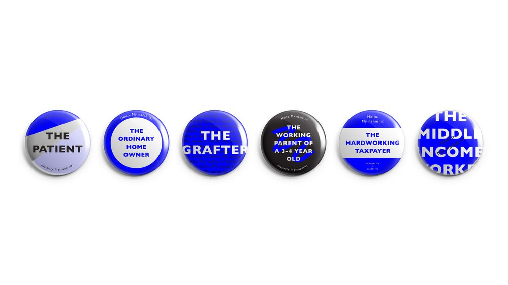 Austerity Character Badges