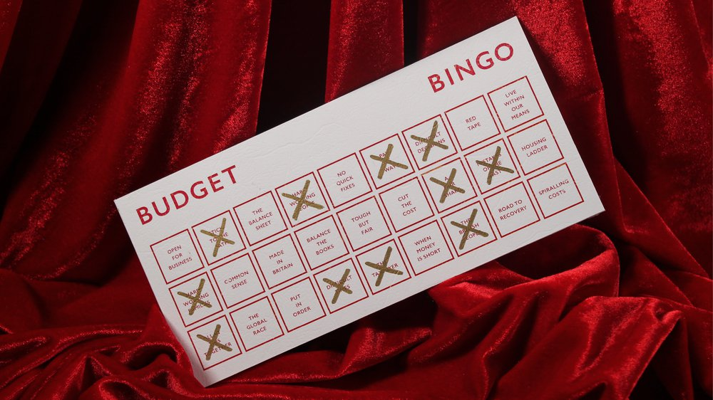 Budget Bingo 2015 Edition