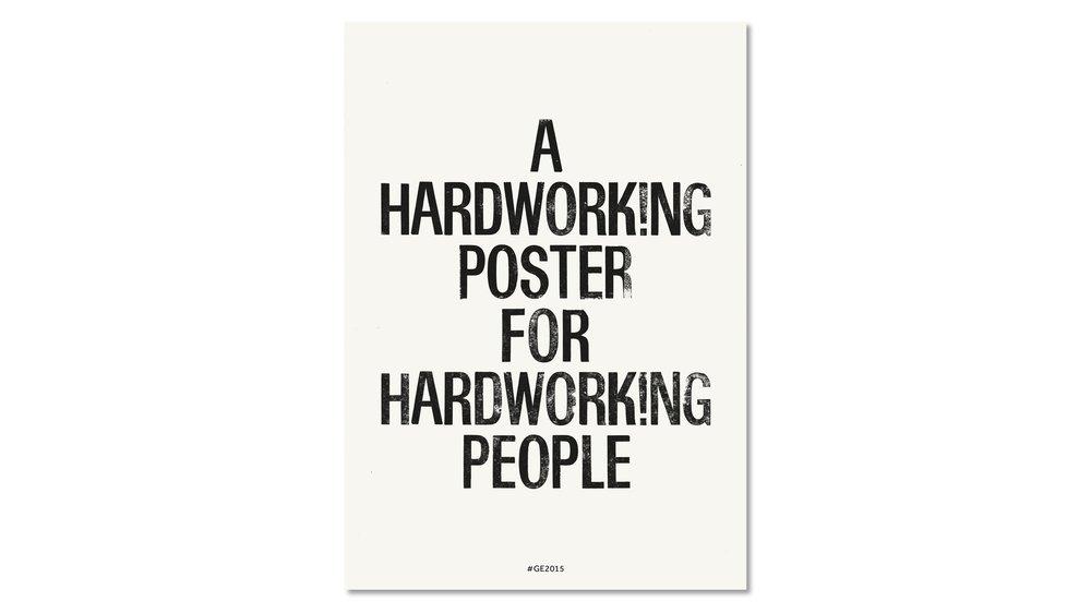Hardworking Poster