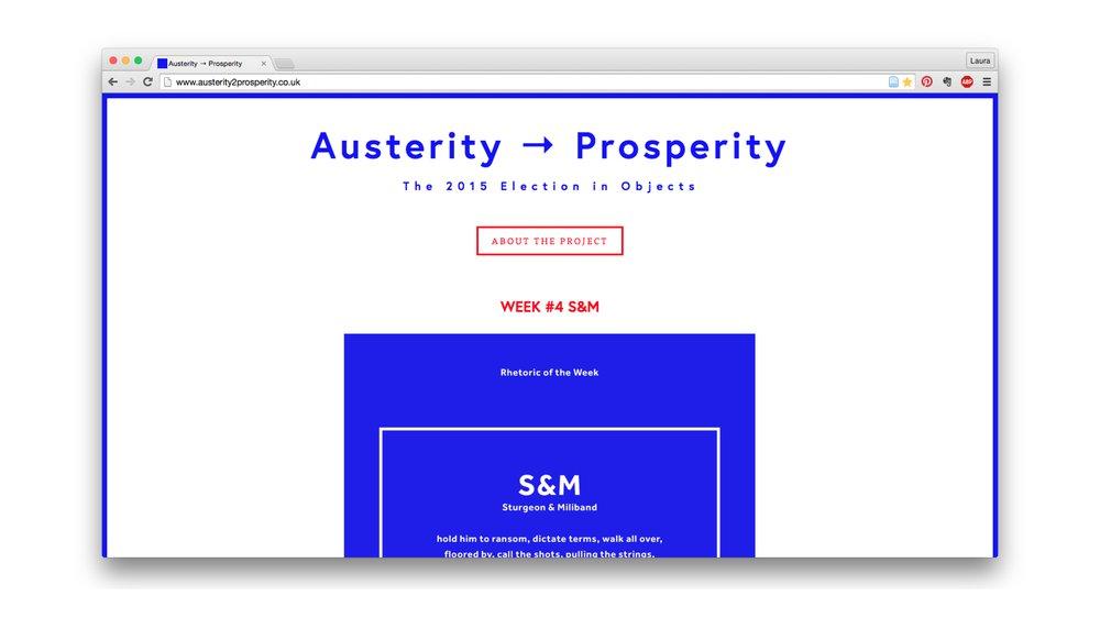Austerity to Prosperity website