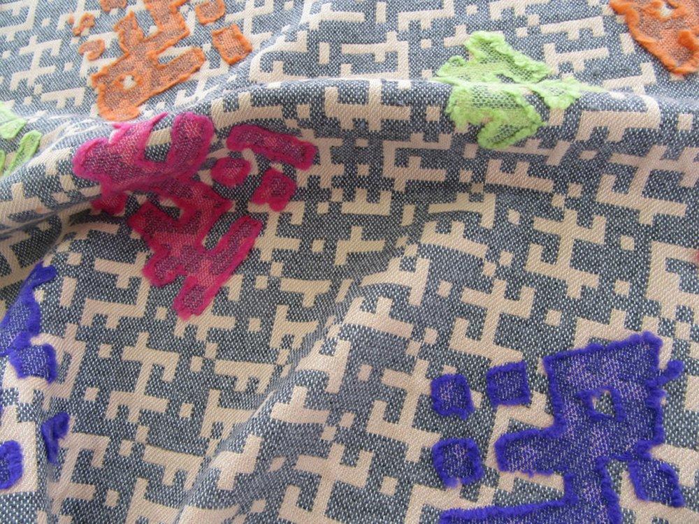 Weave Structure Applique Jacquard